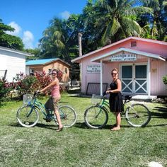 Belize - Sharing House to House the Good News of God's Kingdom on bicycles -JW.org- ~Photo shared by @larabobearaful