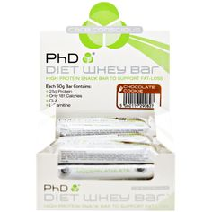 PhD Nutrition Diet Whey Bar | PhD Nutrition - Official Trade Sports Nutrition Distributor | Tropicana Wholesale