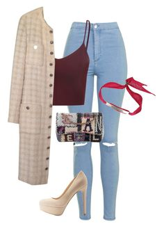 Untitled #154 by jayla-gore on Polyvore featuring polyvore, fashion, style, Glamorous, Chanel, Topshop, Qupid, Bjørg and clothing
