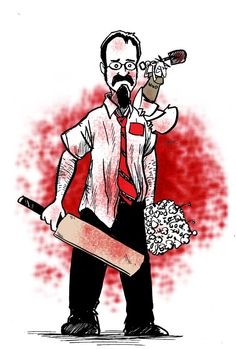 bob of the dead... homage to shaun of the dead...