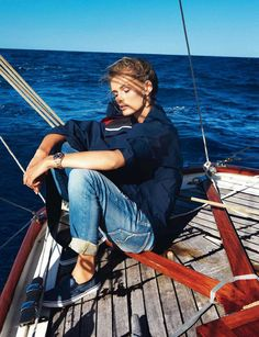 Styl dziewczyny marynarza EXAMPLE.PL