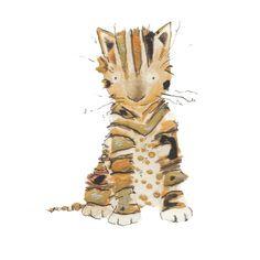 UK illustrator, catherine rayner, 'posy'