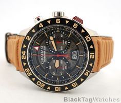GRAHAM SILVERSTONE RS Flyback Skeleton GMT Limited Edition  2STDC.B08A.L119F #Graham #LuxuryDressStyles