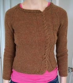 Ravelry: Twisted Sweater by The Cranky Knitter