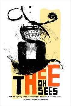 Thee Oh Sees - Kunny Van Der Ploeg - 2013 ----