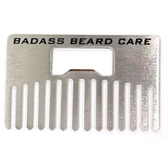 Wallet Beard Comb