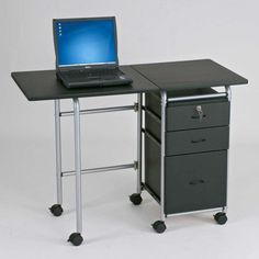 Modern Office Cabinet Laptop Desk Locks Computer Desk With Locking throughout dimensions 1280 X 960 Laptop Desk With File Cabinet - Keeping important Portable Computer Desk, Computer Workstation Desk, Computer Desk Design, Computer Desks For Home, Laptop Desk, Small Computer, Computer Cart, Portable Workstation, Computer Tables