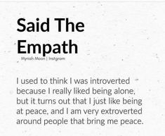 Empath Traits, Intuitive Empath, Quotes To Live By, Me Quotes, Empath Abilities, Highly Sensitive Person, Sensitive People, Infj Personality, Wise Words