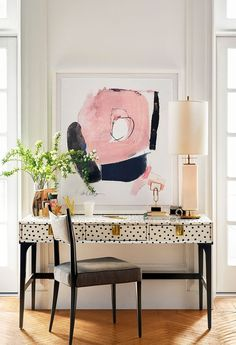 spring has sprung! these vibrant and timeless home pieces work the room.