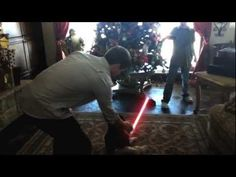 Just try and get a lightsaber out of a toddler's hands. It's easier said than done when you're unarmed.       This was shot using various iphones and android phones.   We used After Effects for the lightsaber, finger, and railing shots.     Created by: Joel and Jared Erickson  Unwilling participants: Coen Erickson, Sawyer Erickson, Sage Lewis, Hunter L...