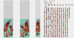 Схемы для вязания жгутов из бисера на 23 бисерины