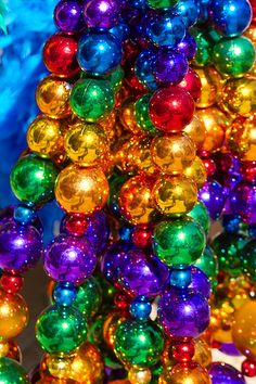 Neworleans Rainbow Colorful Balls