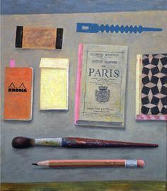 Marion de Man, Petite Histoire, Acryl op doek, 80x70 cm, €.1775,-