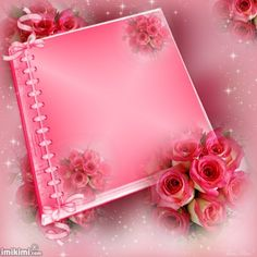 In ♡ Memory ~ Forever Written Pages Within My Heart ♡ ~ * ~ Treasured ☆ Keepsake ☆ Memories ~ * ~ Photo Background Images, Frame Background, Flower Images Free, Book And Frame, Phone Screen Wallpaper, Valentines Day Greetings, Pretty Images, Borders And Frames, Everything Pink