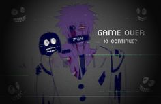 Game over with Purple Guy..