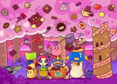 Another Kirby fan's Tumblr - ker222: candy woods (X)