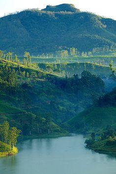 Hatton, Sri Lanka #SriLanka #Hatton #Lake