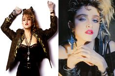 NOTHING and NO ONE was cooler than this right here in the 80s. Madonna being Madonna. The real Madonna.