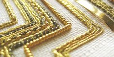 Tracy A Franklin - specialist embroiderer: Gold work