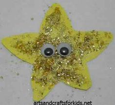 Glitter starfish