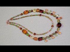 multi strand necklace beginner tutorial