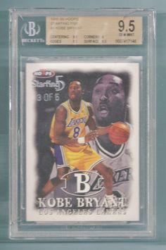 KOBE BRYANT 1998/99 HOOPS STARTING FIVE /5 , BGS 9.5 GEM MINT POP 1 !!! | Sports Mem, Cards & Fan Shop, Sports Trading Cards, Basketball Cards | eBay!