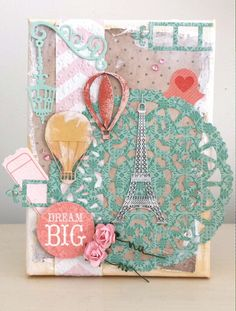 Dream Big canvas for Couture Creations