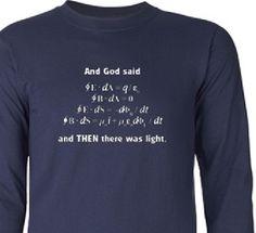 maxwell_equation_shirt Math Shirts, Physicist, Fun Math, Style Guides, Equation, Science, Female, Sayings, Mens Tops