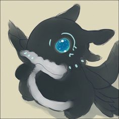 Fairy Tail - Acnologia<<<AWW!!! look at the sweet cute, tiny evil cursed dragonslayer of death!!! wait...WHY DID SOMEONE MAKE HIM CUTE?!