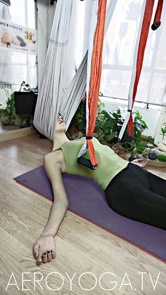 Aerial yoga, aerial yoga theraphy www.aerialyoga.tv Aero Yoga© Tel ( 00 34 )91 457 22 15 by yogacreativo, via Flickr #aerialyoga #yoga #aeroyoga #yogaaerien #yogaswing #acro #acrobatic #anti #age #stress #beauty #health #gravity #gravedad #acrobatico #pilates #fitness #suspension #training #exercice