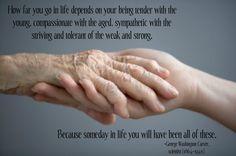 Elderly Life Lesson