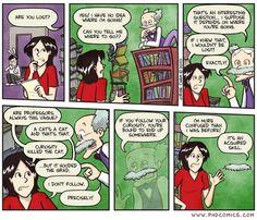 Alice in Wonderland PhD comic - Cheshire Cat