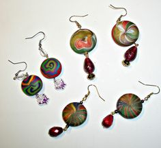 Adding some earrings to the collection by klio1961, via Flickr