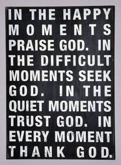 Thank you God! by Susan John