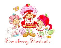 strawberry shortcake cartoon - Google Search