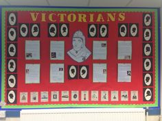 Victorian display ks2 Class Displays, Classroom Displays, New Classroom, Classroom Decor, Primary History, School Organisation, Victorian Christmas, English Lessons, Queen Victoria