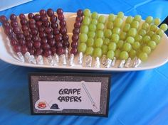 Grape Sabers - Angry Birds Star Wars - Crafty Party