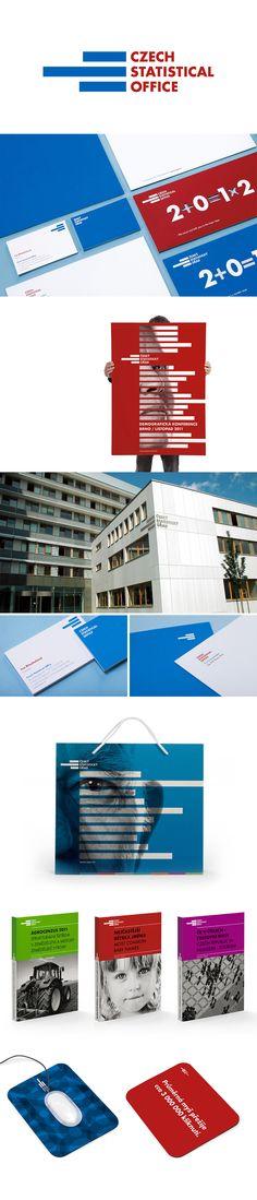 Czech Statistical Office Corporate Identity   Designed by Jiri Toman   Toman Design