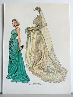 1982 Paper Doll  Princess Grace