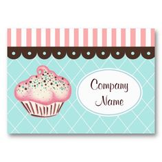 19 best cake decorating business cards images on pinterest cake cupcake business card flashek Choice Image