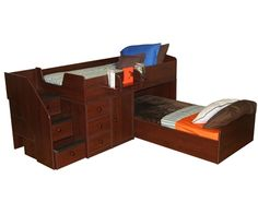New Sierra Captain's Bed For Two http://www.ekidsrooms.com/New_Berg_Captains_Bed_For_Two_p/bg22-741-xx.htm