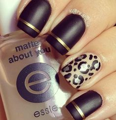Mate nail polish!! Now this is different and nice..