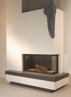 Haarden - Liftdeur haarden - Kal-Fire Heat 100/52 hoek