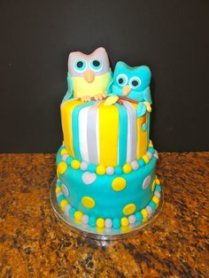 Whoo's ready for baby? (groan) — Baby Shower