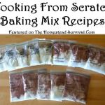 Cooking from Scratch Baking Mix Recipes