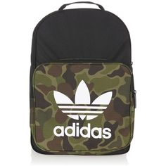 Adidas Adidas Classic Camouflage Backpack (€29) ❤ liked on Polyvore  featuring bags 3790fed71448a