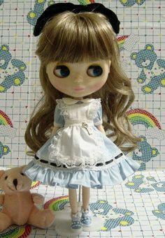 BLYTHE dress  Blue dress set for BLYTHE doll von blythelove auf Etsy