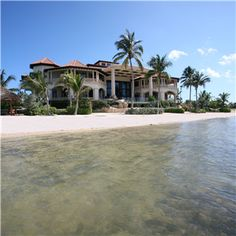 8 Bedroom Exquisite Beach Front Estate For Sale In South Sound, Cayman Beachfront  Homes For
