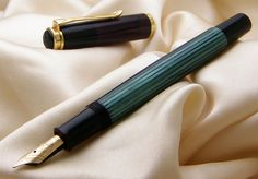 Pelikan M400 Green. Someday I will have you :)