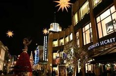 The Grove~ Los Angeles. I love that they still have a bookstore,  a big one! Fun.